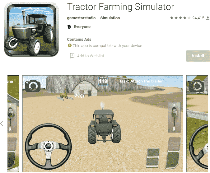 Tractor game download